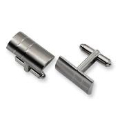 Titanium Cuff Links - JewelryWeb
