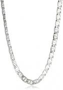 Men's Stainless Steel Mariner Link Necklace, 55.9cm