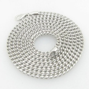 Mens .925 Italian Sterling Silver Franco Link Chain Length - 30 inches Width - 2.5mm