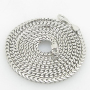 Mens .925 Italian Sterling Silver Franco Link Chain Length - 30 inches Width - 3mm