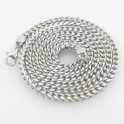 Mens .925 Italian Sterling Silver Franco Link Chain Length - 30 inches Width - 4mm
