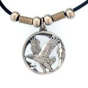 Earth Spirit Necklace - Flying Eagle - Earth Spirit Necklace