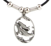 Earth Spirit Necklace - Whale & Baby - Earth Spirit Necklace