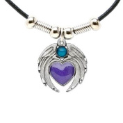 Earth Spirit Necklace - Heart with Wings - Earth Spirit Necklace