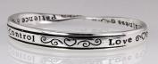 4030247 Religious Christian Bible Cross Jewellery Bracelet Fruits of the Spirit