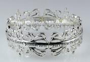 4030723 Jeremiah 29:11 Princess Style Christian Bracelet Religious Cross Bible Scripture