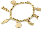 The Vatican Library Collection Sacred Symbols Charm Bracelet