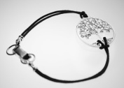 Small Tree of Life Silver Dipped Bracelet