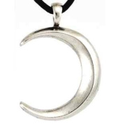 Lunar Attraction Moon Amulet Charm Necklace Pendant Wicca Wiccan Pagan Metaphysical Spiritual Religious Women's Men's Jewellery