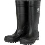 Radnor Size 12 16'' Economy PVC Plain Toe Boot With Lug Outsole