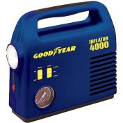 Goodyear 12 Volt Inflator i4000 w/ 4-way Emergency Light