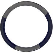 Custom Accessories Steering Wheel Cover, Black/Grey