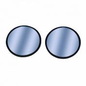 CIPA 49111 Blue Tinted 5.1cm Stick-On Convex HotSpot Mirrors