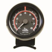 Equus 6.4cm Mini Tachometer, Black