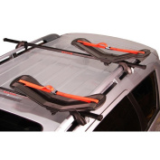 Malone Auto Racks SeaWing Saddle Style Universal Car Rack Kayak Carrier with Bow and Stern Lines
