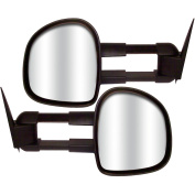 CIPA 70100 Magna Extendable Replacement Mirrors, Chevrolet/GMC