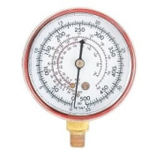 FJC, Inc. 6127 R12 / R134a Dual Replacement Gauge - High Side
