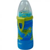 NUK - Silicone Spout 300ml Active Cup, Turtle