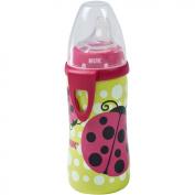 NUK - Silicone Spout 300ml Active Cup, Ladybug