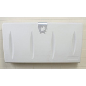 Brocar Horizontal Polyethylene Wall Mount Changing Station