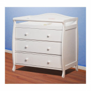AFG - Athena Grace Changing Table with Drawers, White