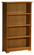 Windsor 139.7cm . 4 Shelf Bookcase - Caramel Latte