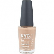 NYC New York Colour In a New York Colour Minute Quick Dry Nail Polish, Fashion Safari, 10ml