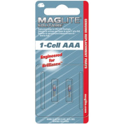 MAG Instrument AAA Replacement Lamp for Maglite Solitaire Flashlight, 2pc