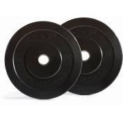 Cap Barbell 9.1kg Bumper Plate Set