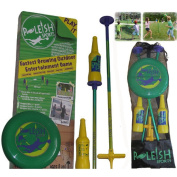 Poleish Sports LLC Standard Game Set with Soft Surface Spike Included