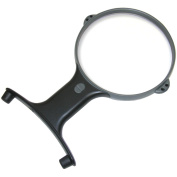 MagniShine Hands-Free Lighted Magnifier With Neck Cord