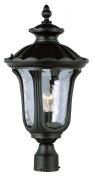 Trans Globe Lighting 5913 BK Outdoor 1 Light Black Outdoor Post