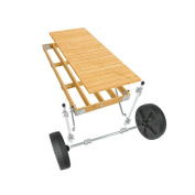 Playstar Inc. Commercial Grade Roll in Dock with Wood Top