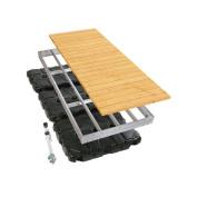 Playstar Inc. Aluminium Floating Dock with Wood Top
