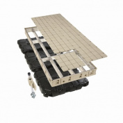 Playstar Inc. Premium Floating Dock Frame with Resin Top