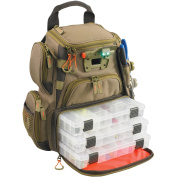 Wild River by CLC WT3503 Tackle Tek Recon Lighted Compact Backpack with Four PT3500 Trays