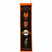 Winning Streak Sports 46022 San Francisco Giants Heritage Banner
