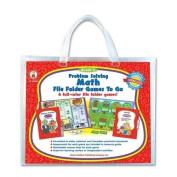 CARSON-DELLOSA PUBLISHING 140033 Problem Solving Math Game w/ 6 Games Grade 3