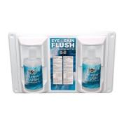 Pac-Kit Emergency Flush Stations - 470ml eye & skin flushstation w/2 470ml b