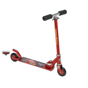 Disney Cars Huffy Inline Folding Scooter, Red