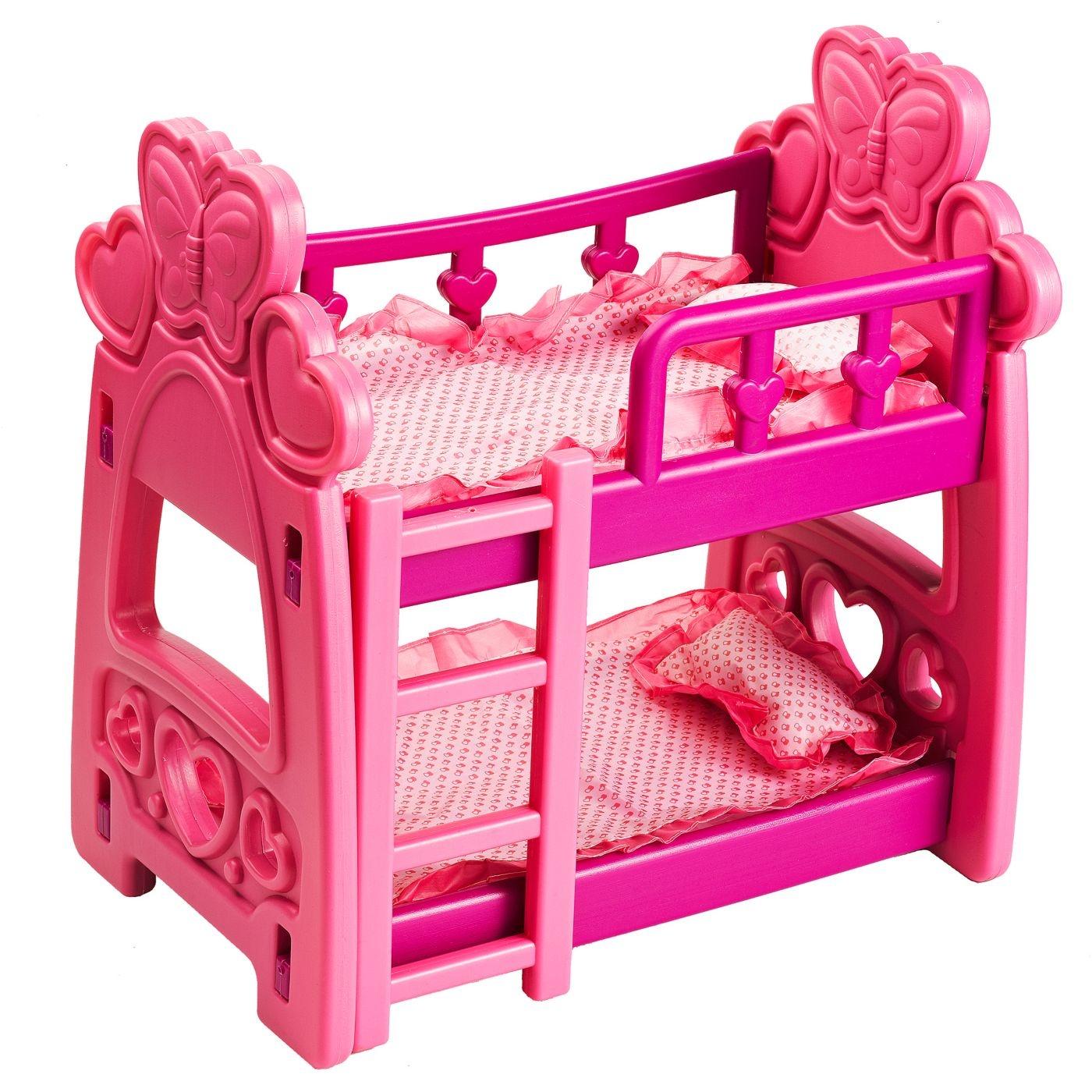 Badger Basket Hearts Doll Bunk Bed By Badger Basket Shop Online
