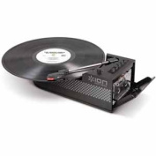 ION Audio Duo Deck Ultra-Portable USB Turntable with Cassette Deck