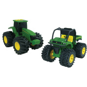John Deere Monster Treads 15.2cm Lights and Sounds Gator and Tractor Play Set