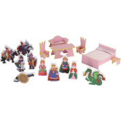 Badger Basket 16-Piece Accessory Set for Castle Doll House
