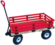 Millside Industries 1600-410 50.8cm x 96.5cm Wooden Waggon with 10.2cm x 25.4cm Tyres