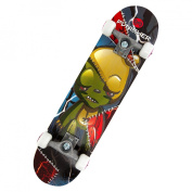 Punisher Skateboards 78.7cm ABEC-3 Complete Skateboard, Frankenbear