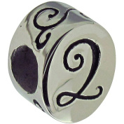 Connexions from Hallmark Stainless Steel Number 2 Bead
