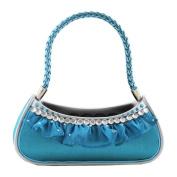 Glitzy Diamonds Handbag Ring Holder - Turquoise - 6W x 6H in.