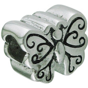 Connexions from Hallmark Stainless-Steel Butterfly Bead