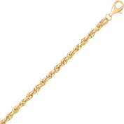"""Simply Gold 10K Yellow Gold 18"""" 2.9MM Rope Chain"""